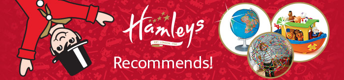 Hamleys Recommends Banner